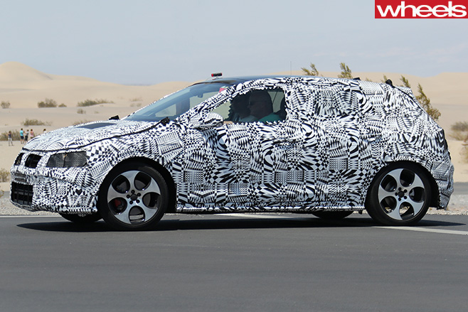 Volkswagen -Polo -GTI-side -front