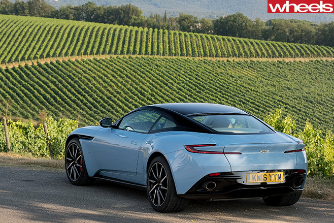 Aston -Martin -DB11-top -rear -side