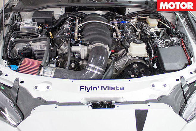 Flyin Miata V8 Mazda MX-5engine