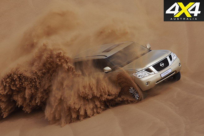 Patrol in the desert
