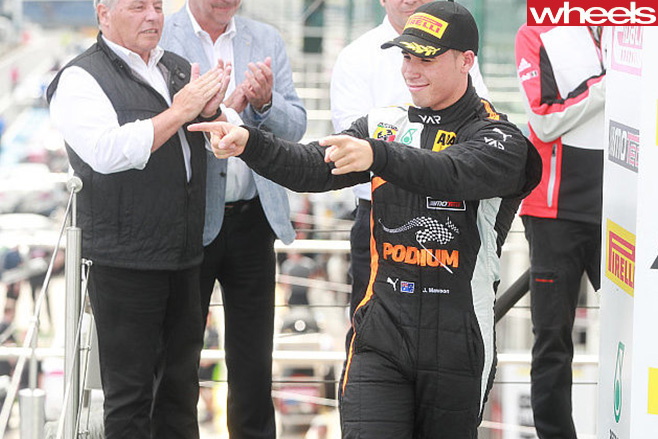 Australian -Joey -Mawson -Formula -4