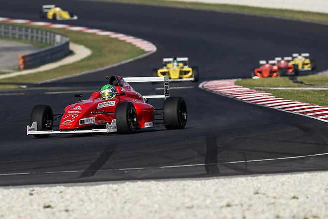 Jordan -Love -driving -Formula -4-racing -car