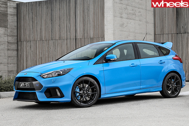 Ford -Focus -RS-front -side