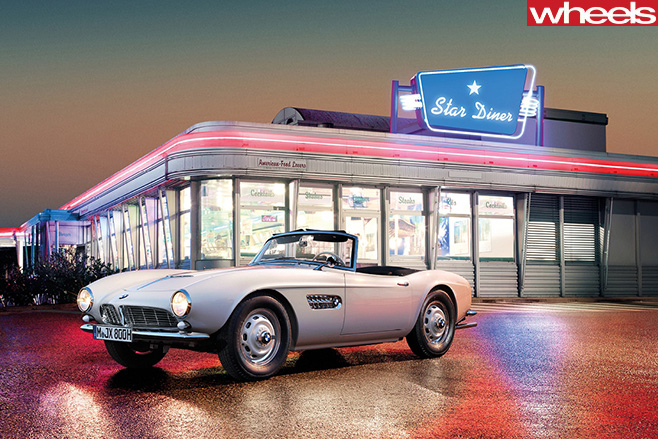 BMW-507-outside -diner