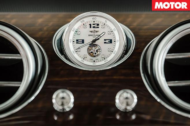 300K bentley clock
