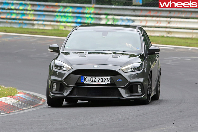 Ford Focus RS500 hatch front