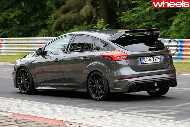 Ford Focus RS500 rear side