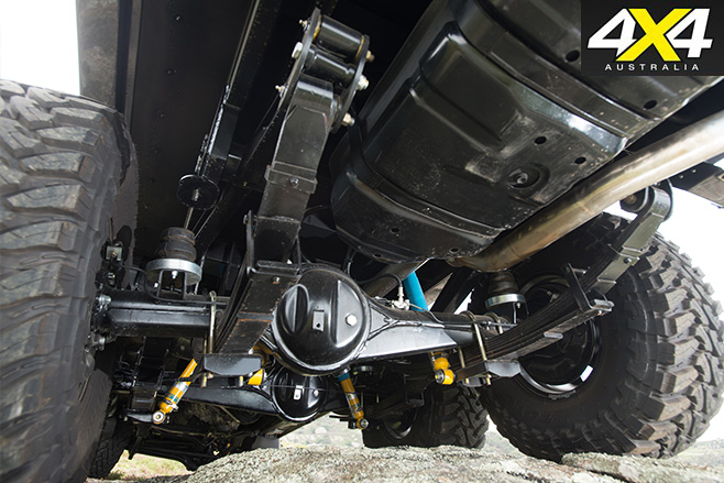 MDT 6x6 landcruiser Scorpian undercarriage