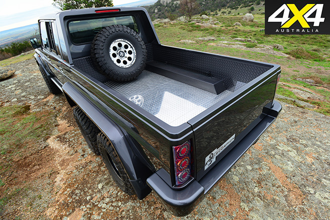 MDT 6x6 landcruiser Scorpian rear tray