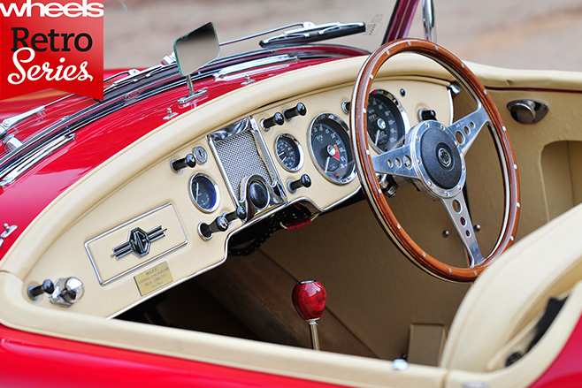 MG-A-Roadster -interior