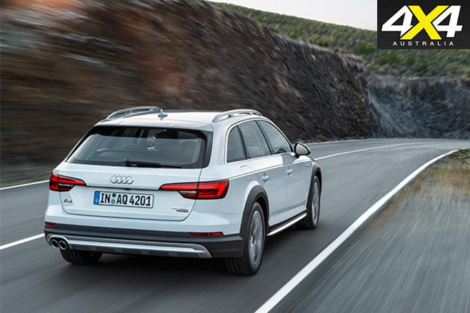 Audi A4 Allroad quattro rear