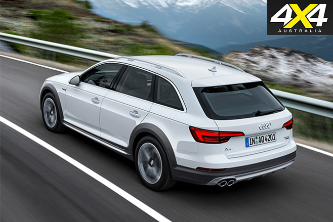 Audi A4 Allroad quattro top view