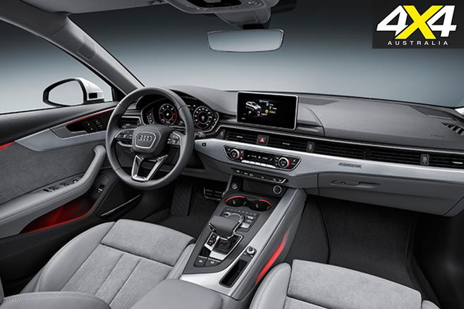 Audi A4 Allroad quattro interior