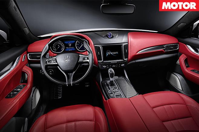 Maserati Levante S interior