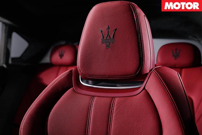 Maserati Levante S seats
