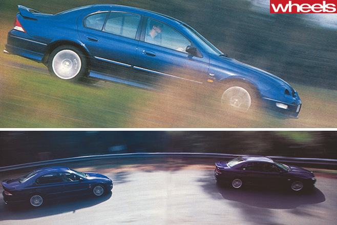 Ford -Falcon -Xr 8-driving -with -Holden -Commodore -SS