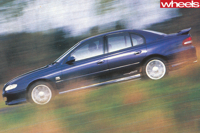 Holden -Commodore -SS-driving -side