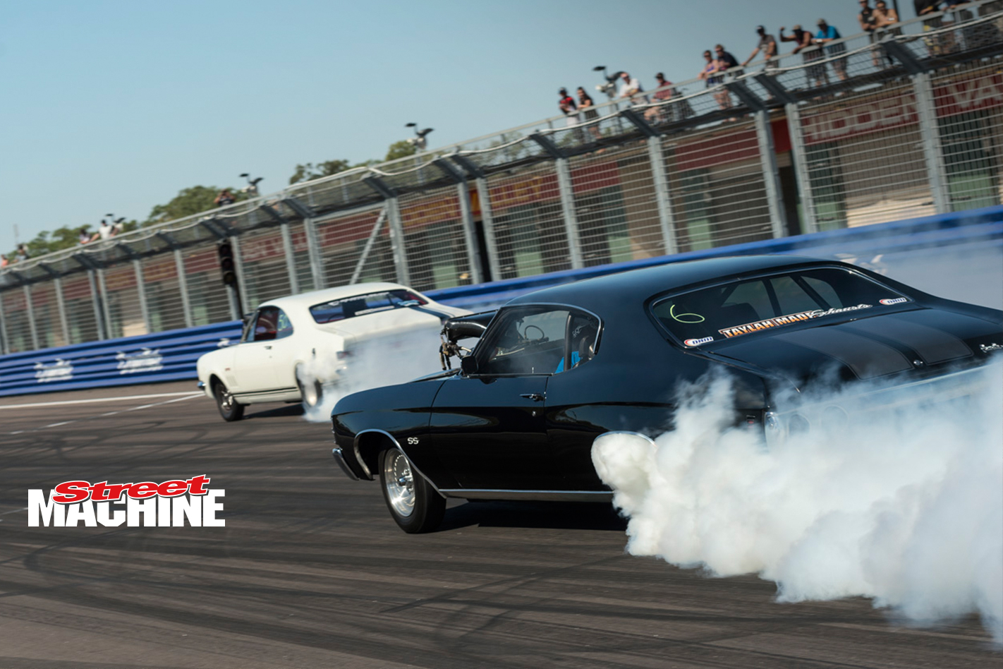 Chevelle Blown Big Block Burnout