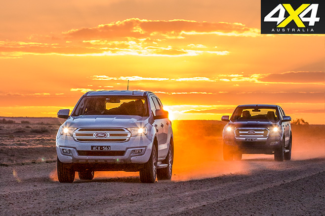 Ford everest vs ford ranger