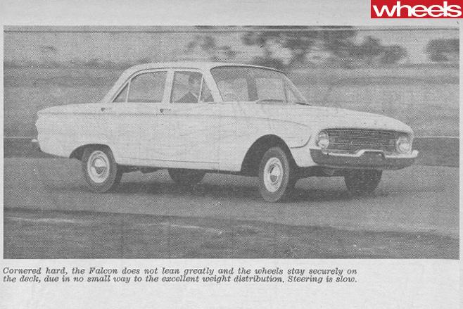 1960-Ford -Falcon -XK-driving