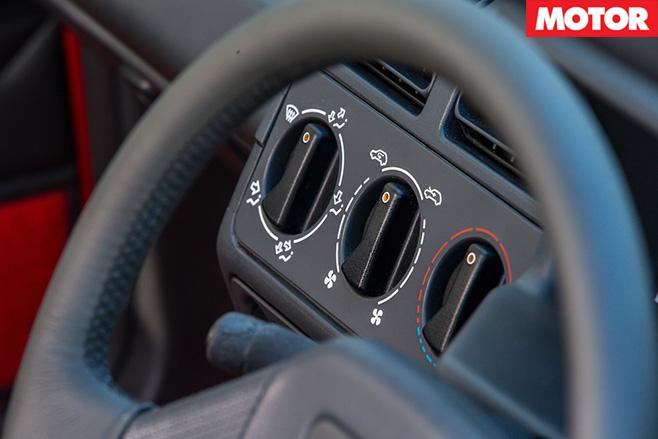 Peugeot 205 GTI steering wheel