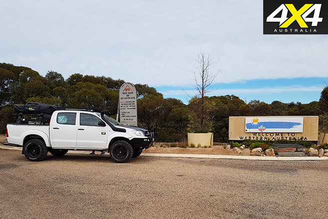 Project toyota hilux in western australia