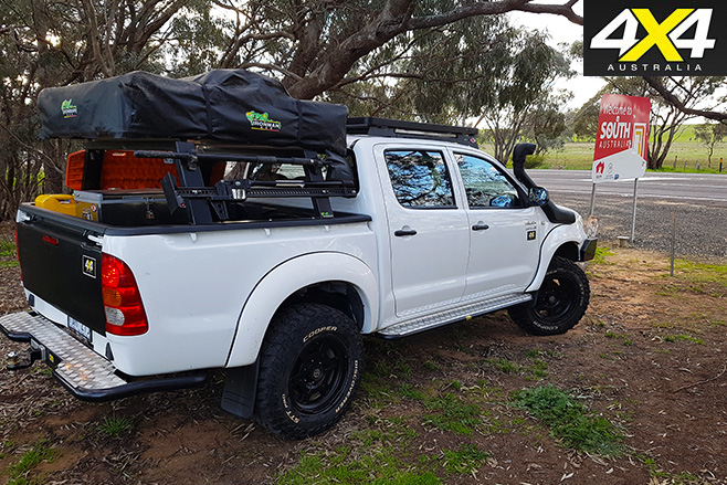 Project toyota hilux in south australia