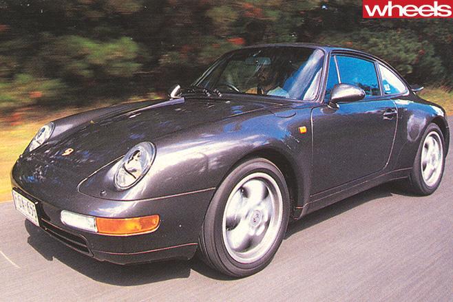 Porsche -911-driving -front -side