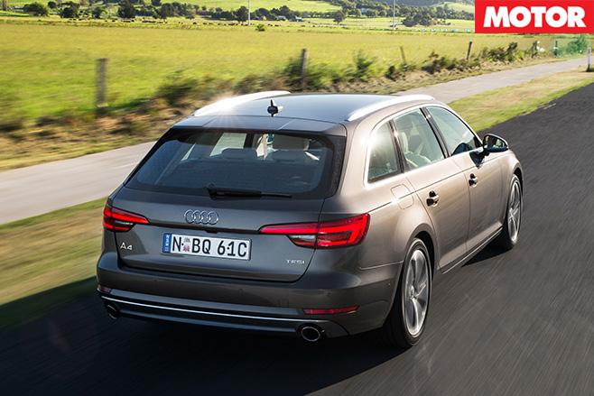 Audi A4 Avant 2.0 TFSI rear