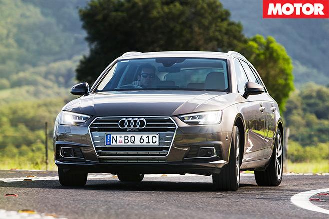 Audi A4 Avant 2.0 TFSI front