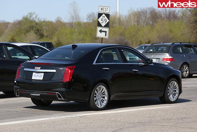 Cadillac -CTS-rear