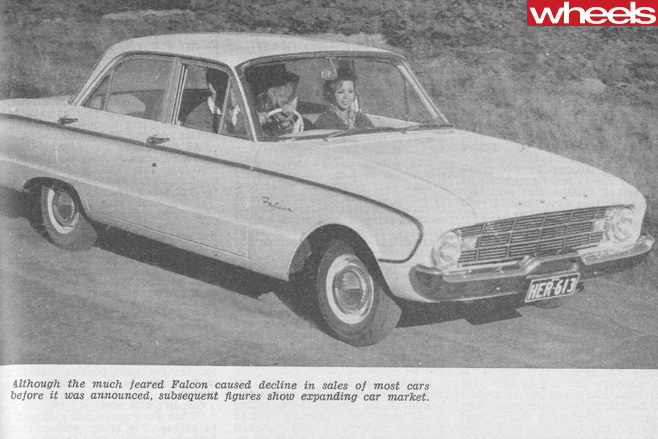 1961-Ford -Falcon -front -side