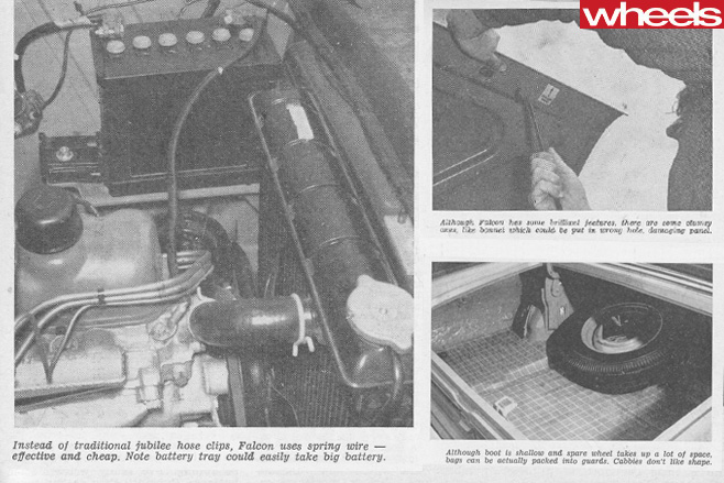 1961-Ford -Falcon -engine -bonnet -and -boot