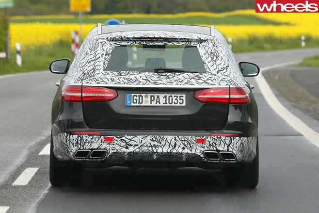 Mercedes -E63-AMG-Estate -rear