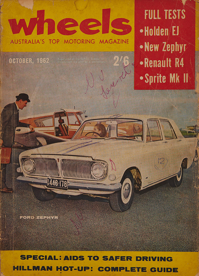 Wheels -October -1962-cover