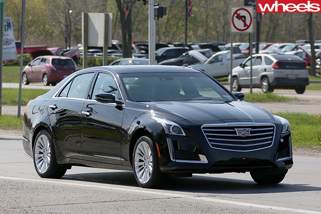 2018 Cadillac CTS, CTS-V, CT6 spied in Melbourne