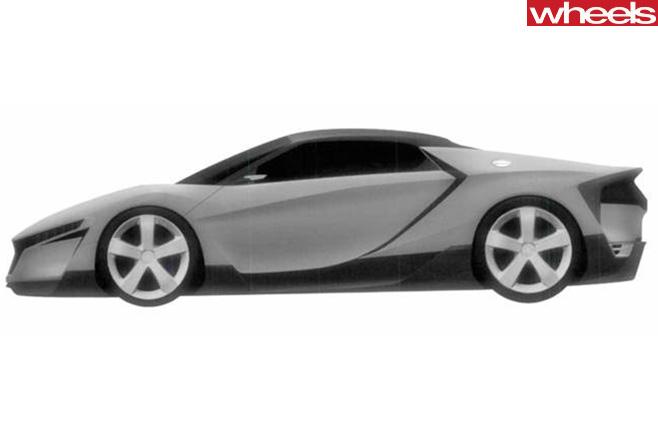 Honda -ZSX-model -trademark -side