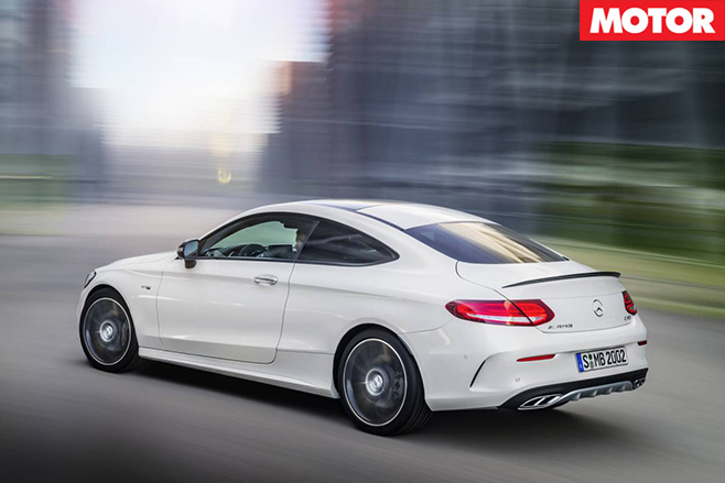 Mercedes-AMG C43 pricing announced rear