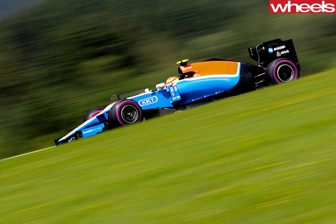 Haryanto -blue -racing -car