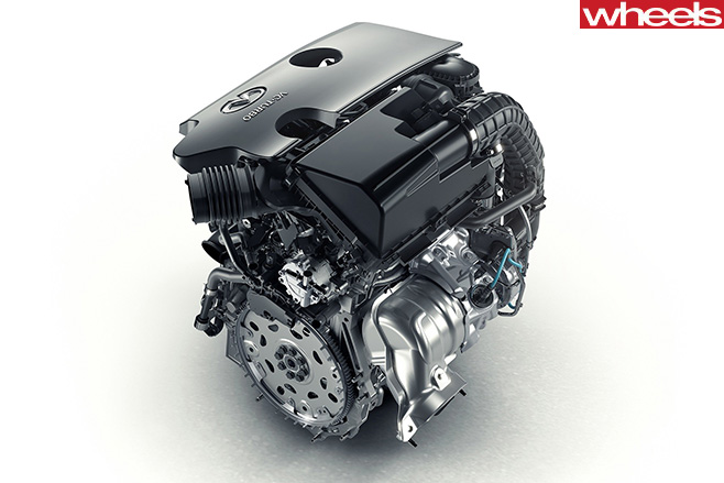 Infiniti -VC-T-Engine -rear