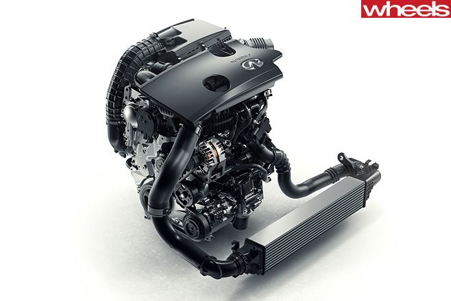 Infiniti -VC-T-Engine -fron -facing