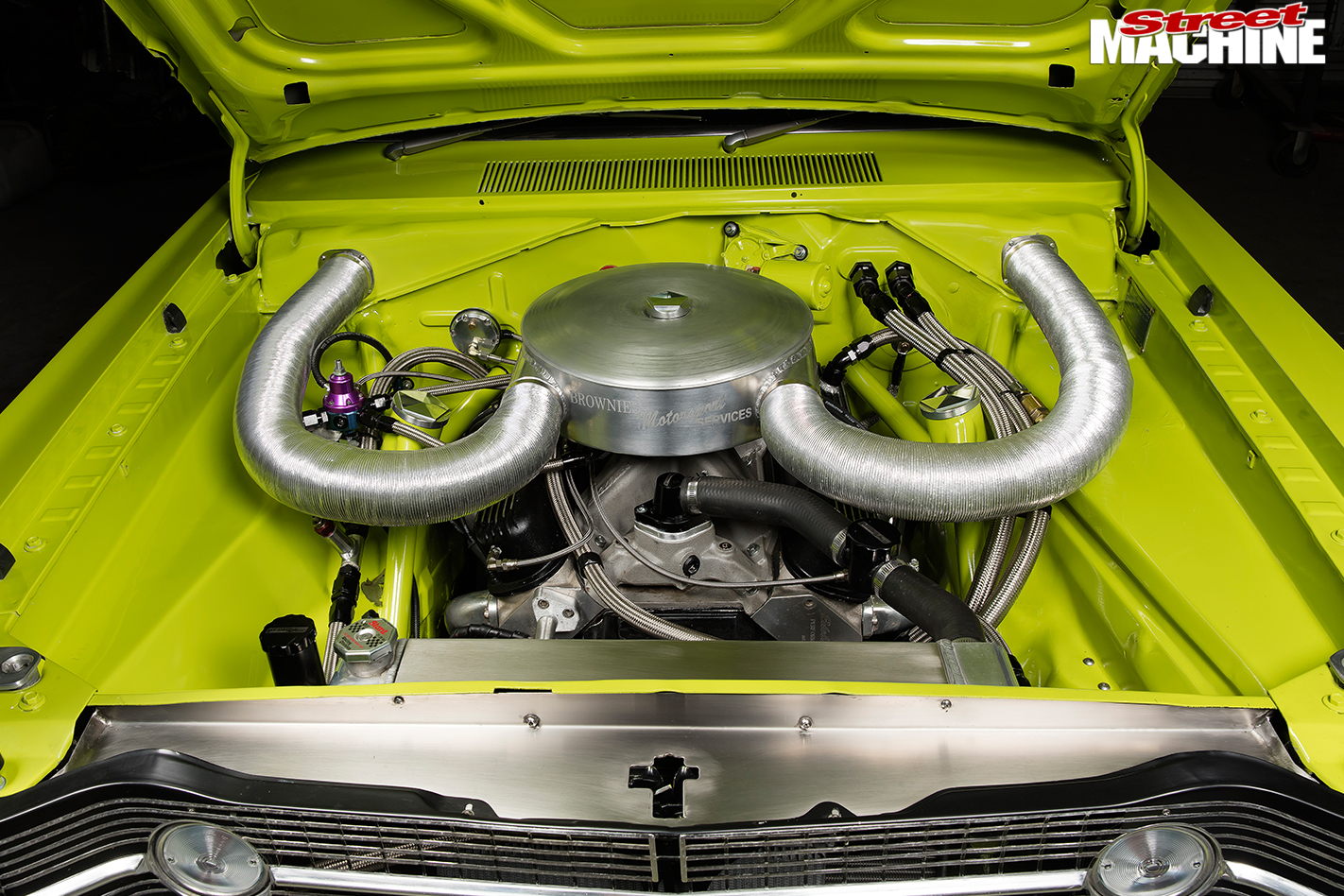 Dodge -Dart -engine -bay