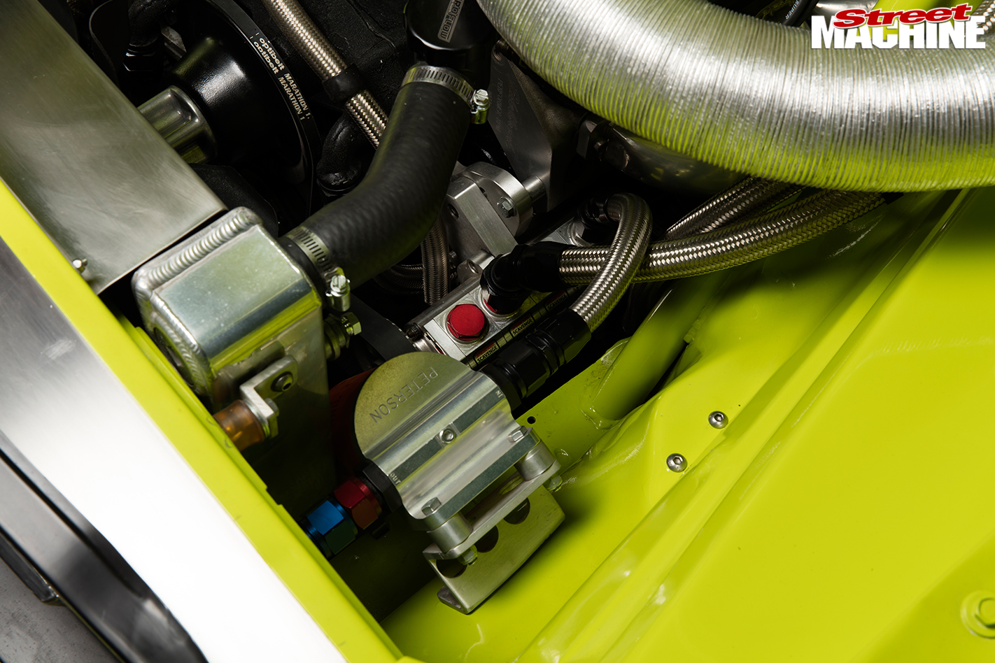 Dodge -Dart -engine -detail