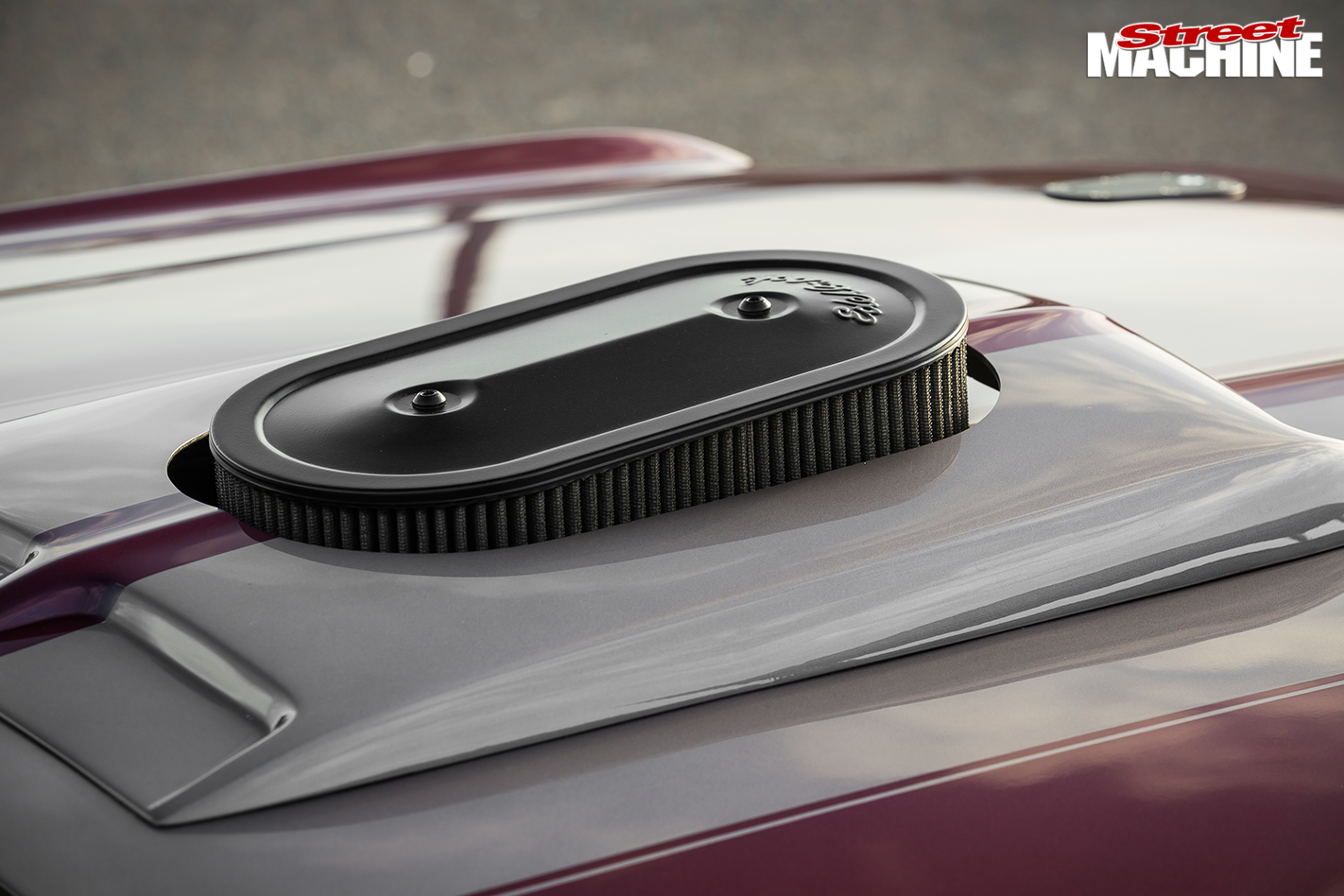 Ford -Mustang -bonnet -detail