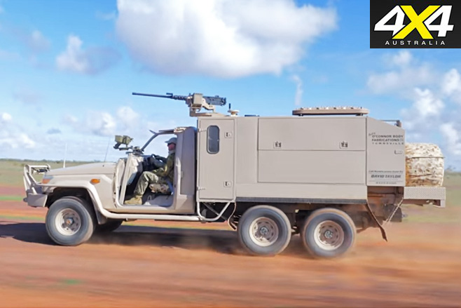 APV's Long Range Patrol Vehicle side