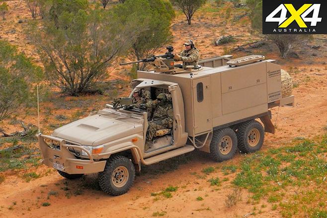 APV's Long Range Patrol Vehicle front