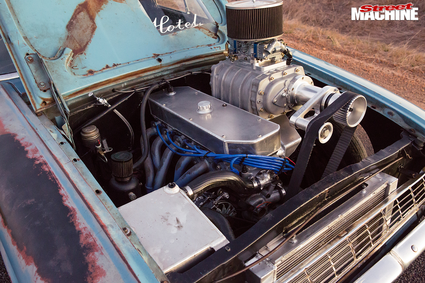 Ford -xl -falcon -ute -engine