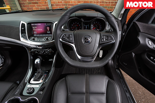 2016 HSV Clubsport R8 SV Black interior
