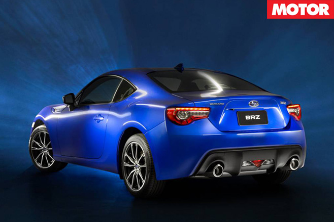 2017 Subaru BRZ rear