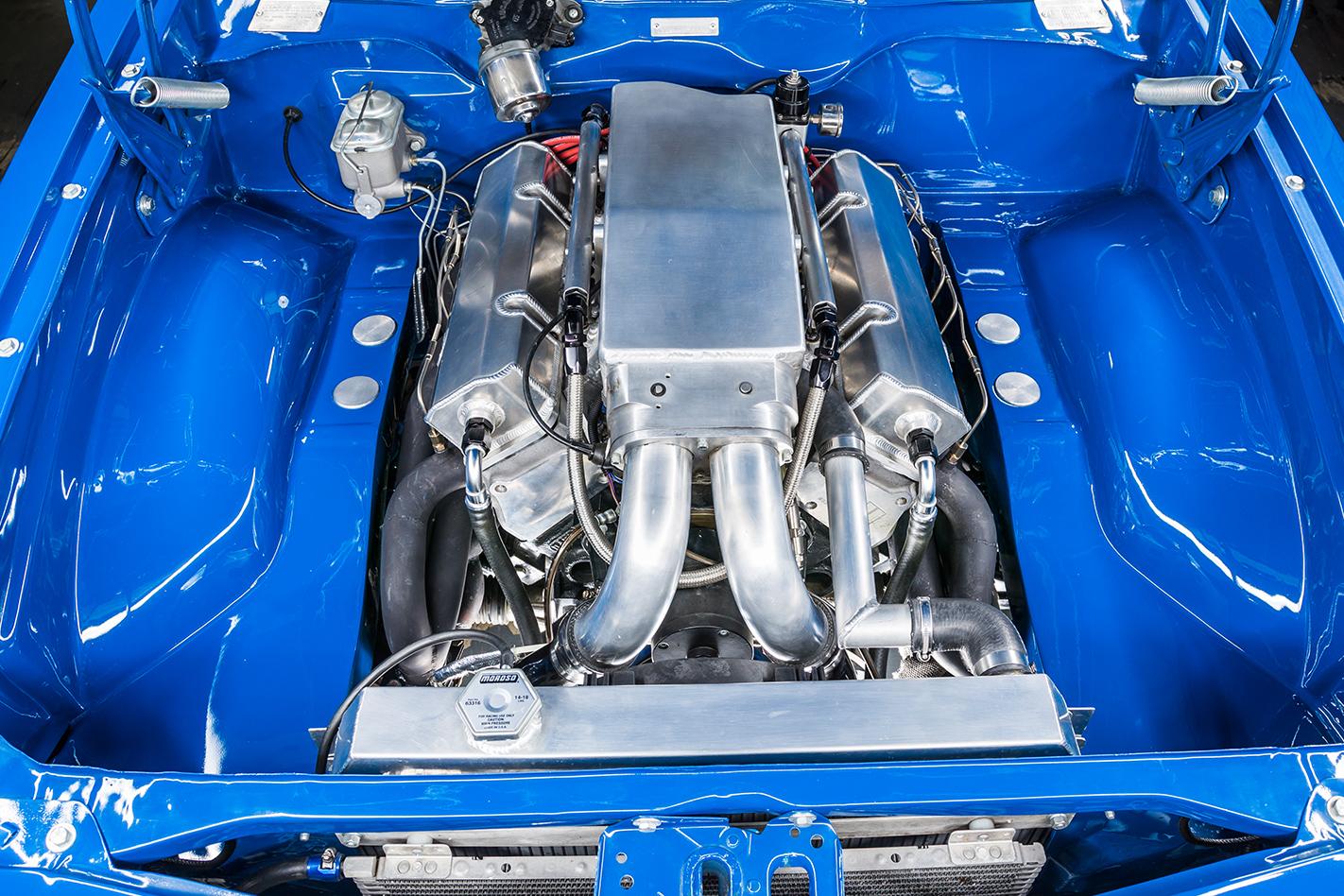 Holden -LH-Torana -engine -bay -3